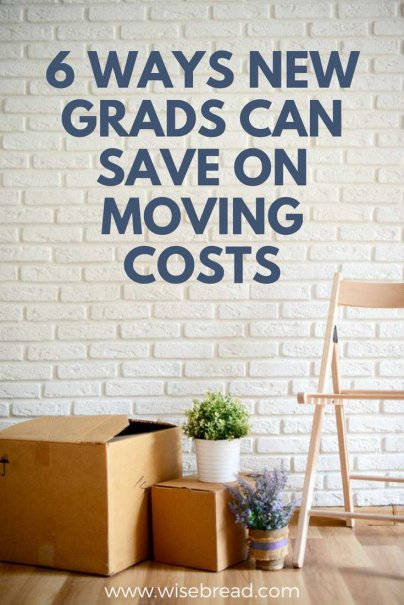 6 Ways New Grads Can Save on Moving Costs
