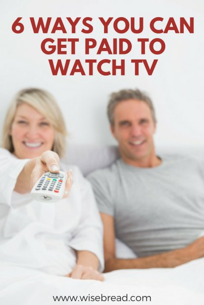 6 Ways You Can Get Paid to Watch TV