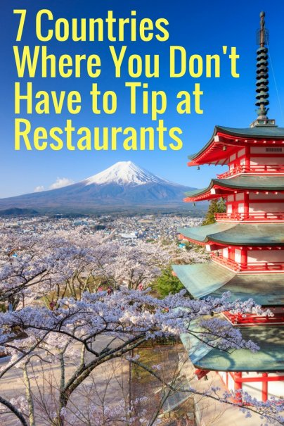7 Countries Where You Don't Have to Tip at Restaurants