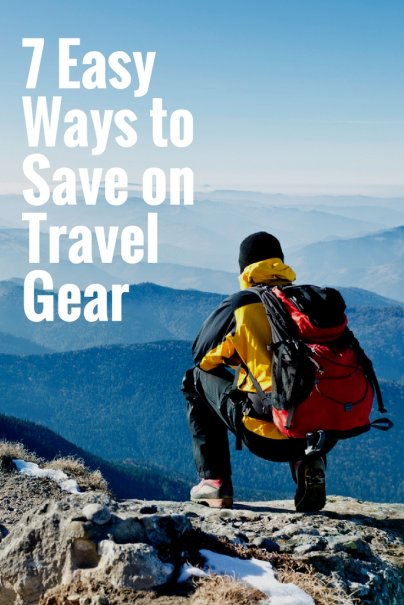 7 Easy Ways to Save on Travel Gear