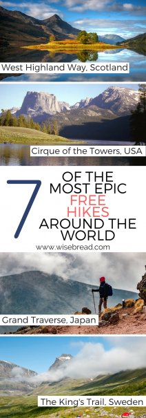 7 Best Free Treks in the World