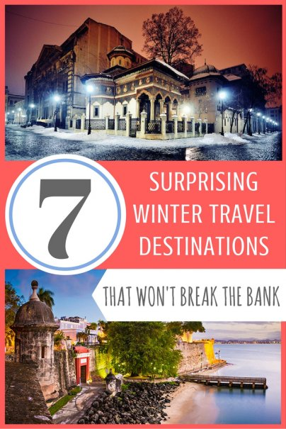 7 surprising winter travel destinations that won 39 t break for Winter break vacation spots