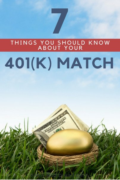 7 Things You Should Know About Your 401(k) Match