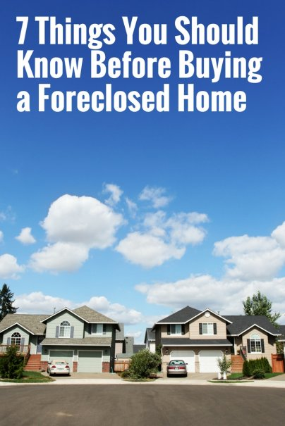7 Things You Should Know Before Buying a Foreclosed Home