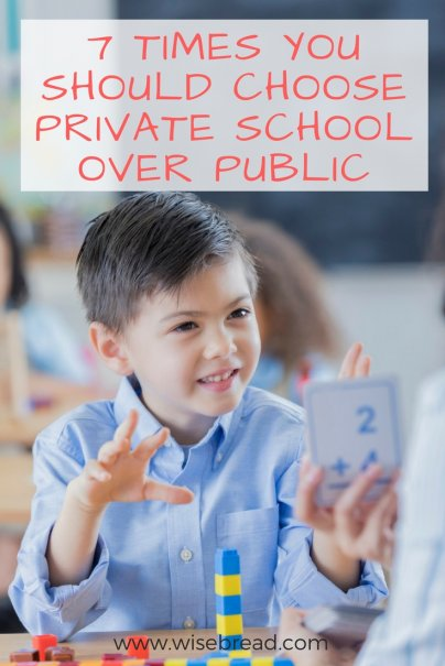 7 Times You Should Choose Private School Over Public