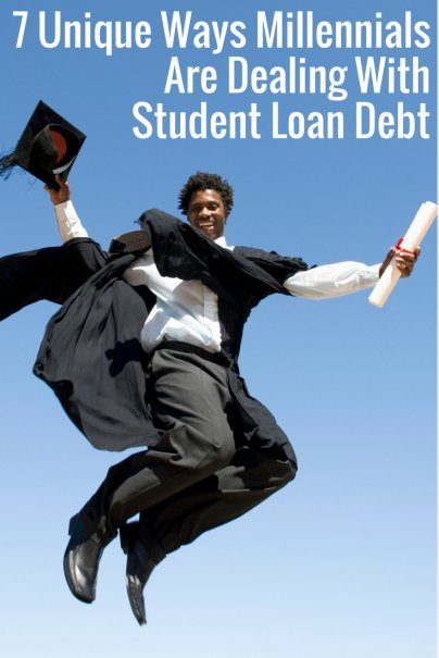 7 Unique Ways Millennials Are Dealing With Student Loan Debt