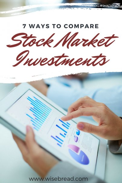 7 Ways to Compare Stock Market Investments