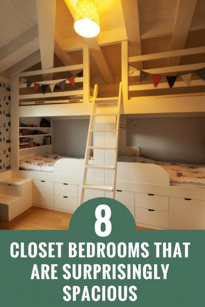 8 Closet Bedrooms That Are Surprisingly Spacious