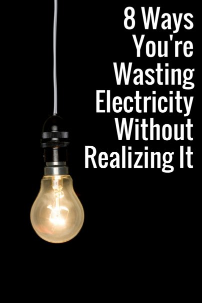 8 Ways You're Wasting Electricity Without Realizing It