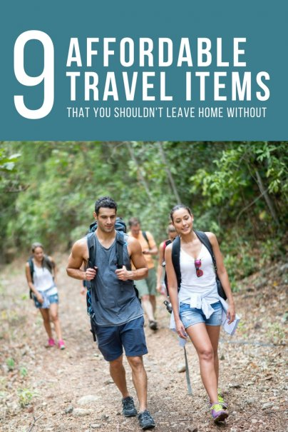 9 Affordable Travel Items That You Shouldn't Leave Home Without