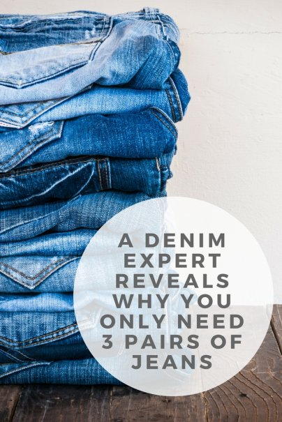 A Denim Expert Reveals Why You Only Need 3 Pairs of Jeans