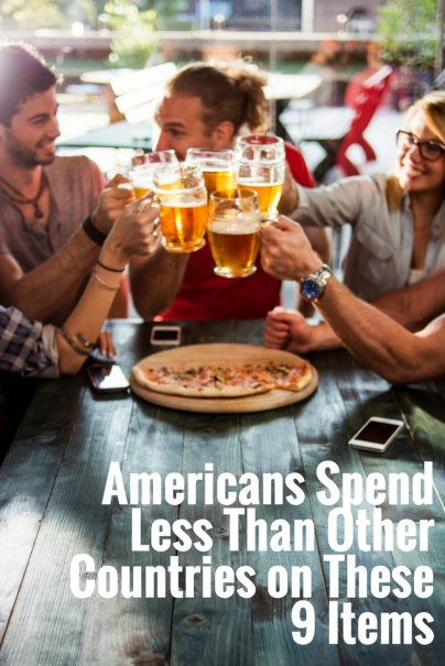 Americans Spend Less Than Other Countries on These 9 Items