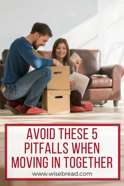Avoid These 5 Pitfalls When Moving in Together
