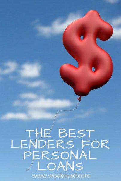 Best Lenders for Personal Loans