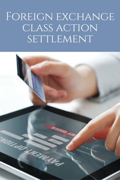 Foreign exchange class action settlement