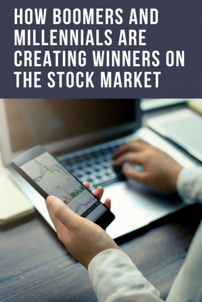 Here's How Boomers and Millennials Are Creating Winners on the Stock Market