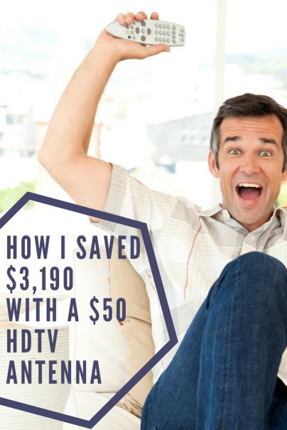 How I Saved $3,190 With a $50 HDTV Antenna