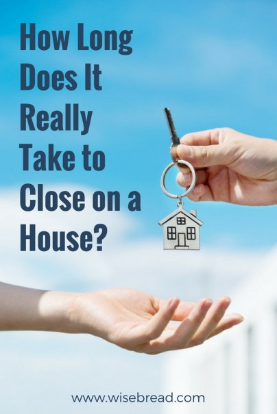 How Long Does It Really Take to Close on a House?