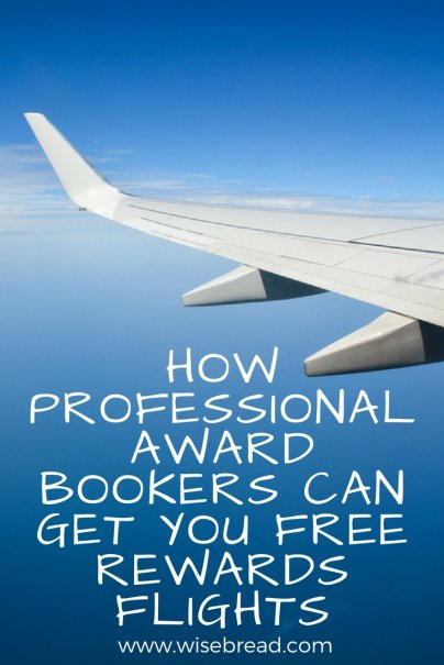 How Professional Award Bookers Can Get You Free Rewards Flights