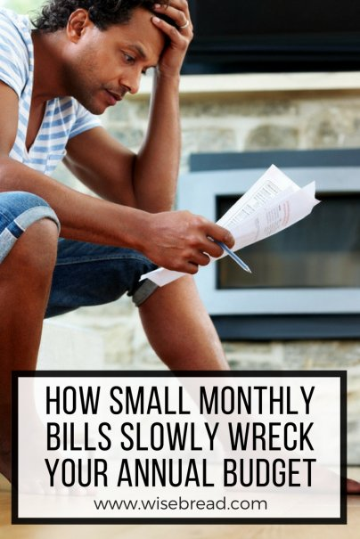 How Small Monthly Bills Slowly Wreck Your Annual Budget
