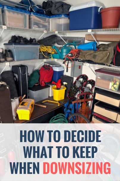 How to Decide What to Keep When Downsizing