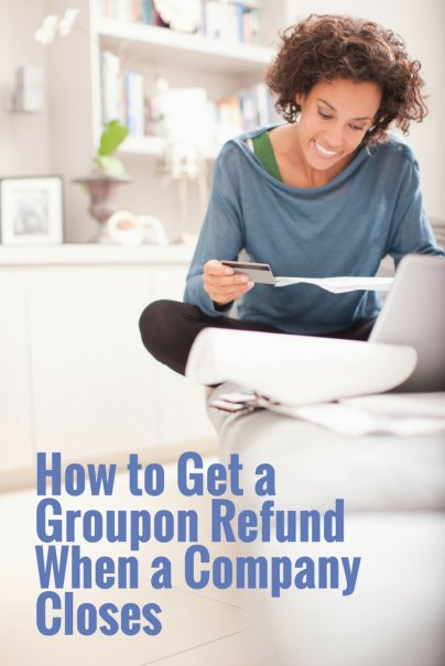 How to Get a Groupon Refund When a Company Closes