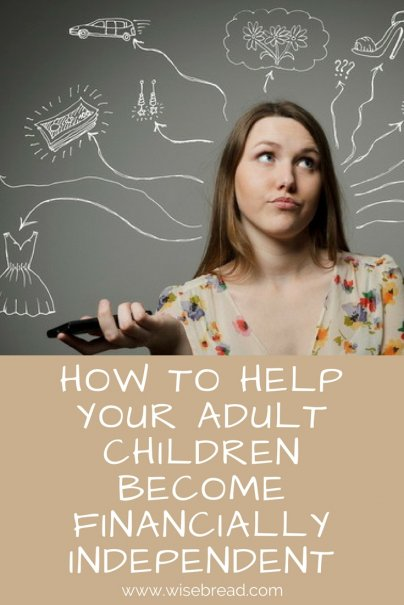 How to Help Your Adult Children Become Financially Independent