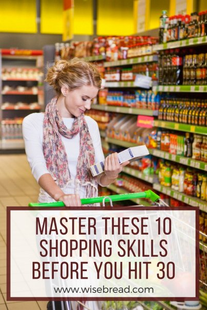 How to Master These 10 Shopping Skills Before You Hit 30