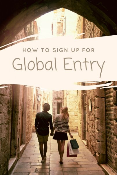 How to Sign Up for Global Entry