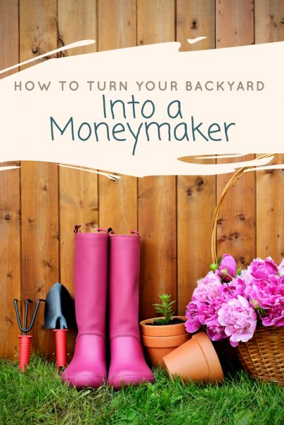 How to Turn Your Backyard Into a Moneymaker