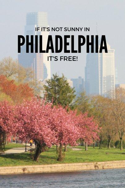 If It's Not Sunny In Philadelphia, It's Free!