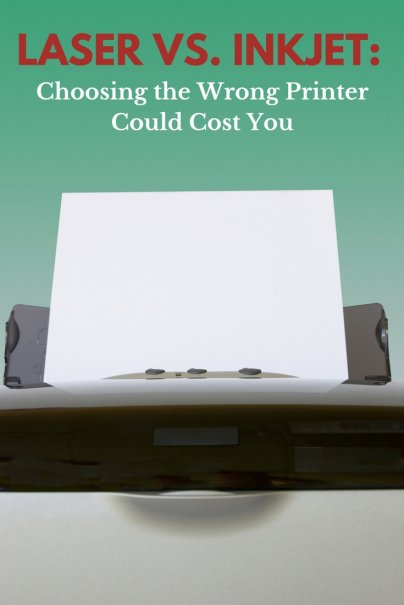 Laser vs. Inkjet: Choosing the Wrong Printer Could Cost You