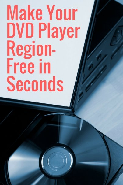 Make Your DVD Player Region-Free in Seconds