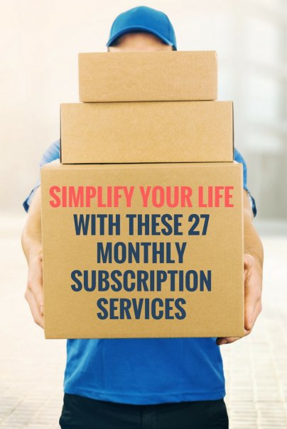 Simplify Your Life With These 27 Monthly Subscription Services