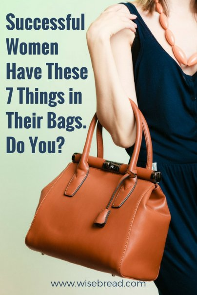 Successful Women Have These 7 Things in Their Bags — Do You?