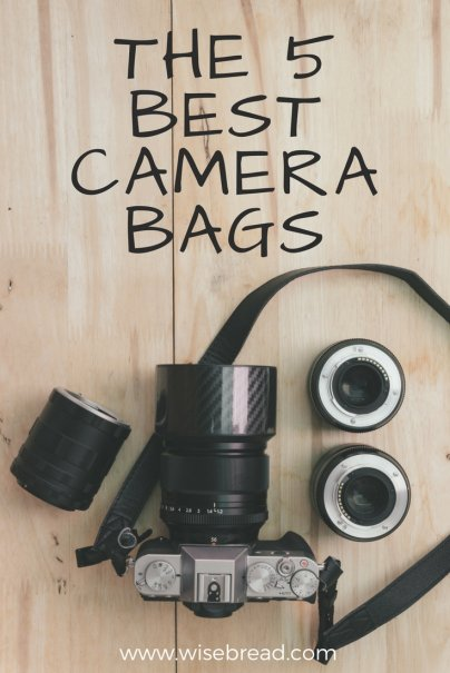 The 5 Best Camera Bags