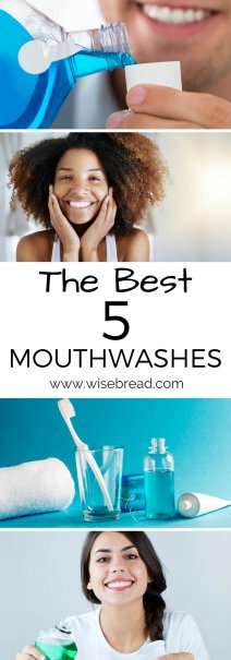 The Best 5 Mouthwashes