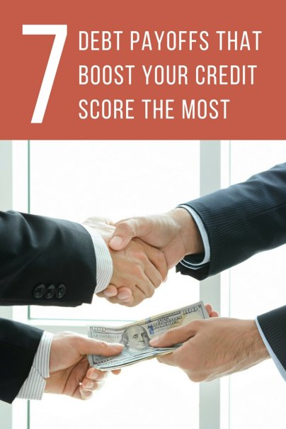 The 7 Debt Payoffs That Boost Your Credit Score the Most