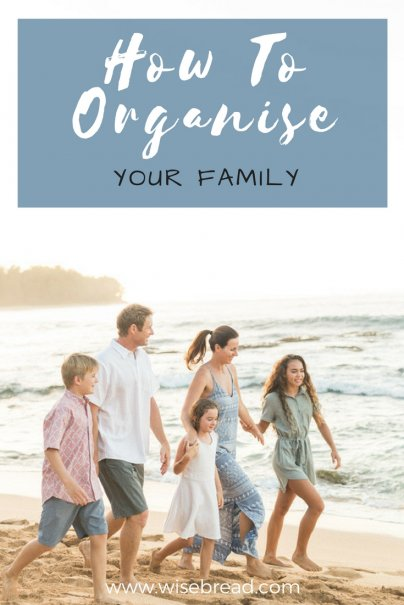 Tools to Get Organized, Family Style