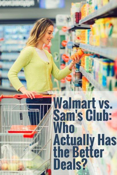 Walmart vs. Sams Club: Who Actually Has the Better Deals?