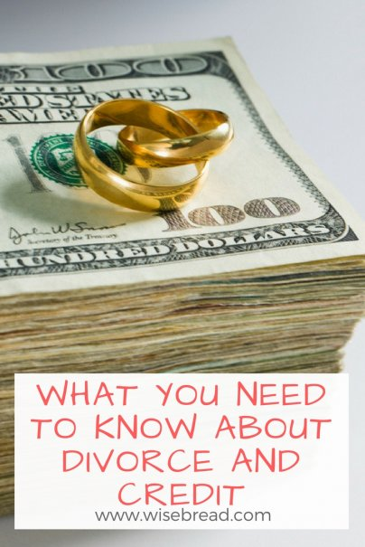 What You Need to Know About Divorce and Credit