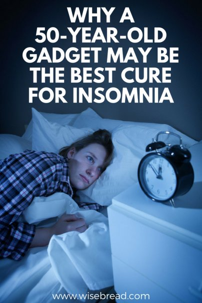 Why a 50-Year-Old Gadget May Be the Best Cure for Insomnia