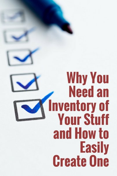 You Need an Inventory of Your Stuff (and It's Easier Than You Think)