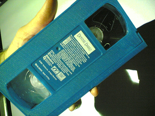 Crocheting Vhs Tape : VHS tape