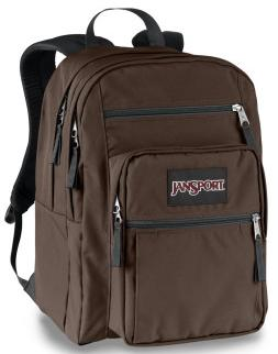 Brown JanSport Big Student backpack
