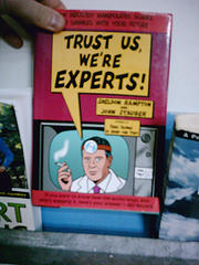 Trust the experts book cover