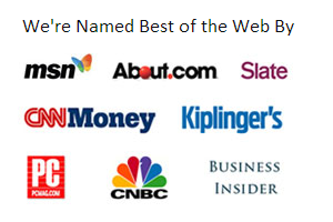 MSN,Slate,CNNMoney,CNBC logos
