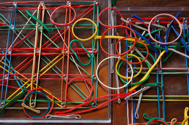 Secured Cards >> 52 Uses for Rubber Bands