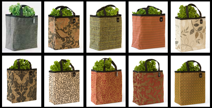JP Monkey Reusable Grocery Bags Giveaway