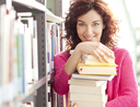 Book lover finding cool jobs that meet her interests